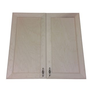 Village Recessed Double Door Frameless Medicine Cabinet