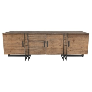 Martine Reclaimed Pine 4 Door TV Stand by Kosas Home