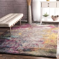 nuLOOM Multicolor Abstract Rug - 6'7 x 9'