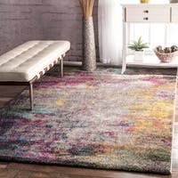 "nuLOOM Multicolor Abstract Rug (6'7 x 9') - 6'7"" x 9'"