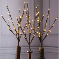 """Battery Operated LED Lighted Branch 17"""""""