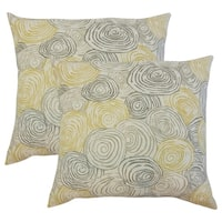 Set of 2  Blakesley Graphic Throw Pillows in Beach