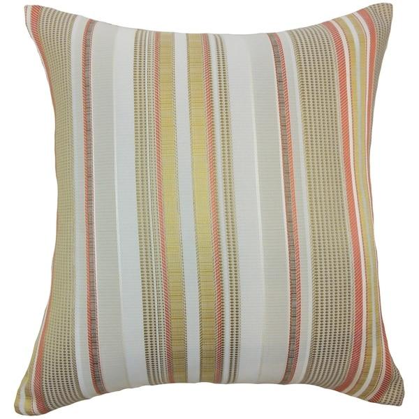 Set of 2 Zelag Stripes Throw Pillows in Freesia