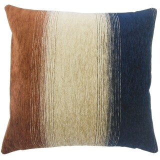 Set of 2 Vasska Ombre Throw Pillows in Cognac
