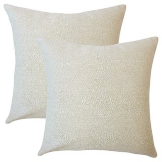 Set of 2  Winslow Solid Throw Pillows in Celadon