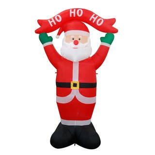 8FT SANTA INFLATABLE|https://ak1.ostkcdn.com/images/products/18157202/P24306376.jpg?impolicy=medium