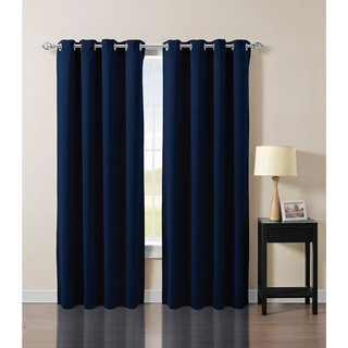 French Impression Solid Blackout Curtain Panel
