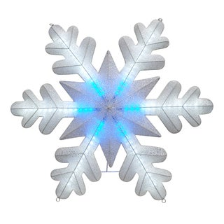 35.5In Led Snowflake