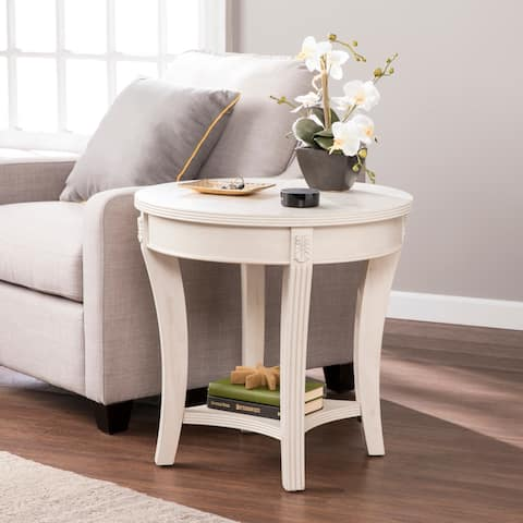 Buy Off-White, Distressed Coffee, Console, Sofa & End Tables ...