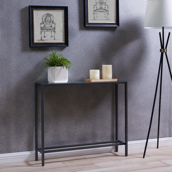 Silver Orchid Ham Narrow Console Table On Free