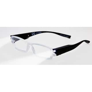 378212cadb5 Multi Strength Eyeglass LED Reading Glasses LRGM Black Optic By Finess