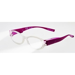 Multi Strength Eyeglass LED Reading Glasses LRGM Purple Optic By Finess