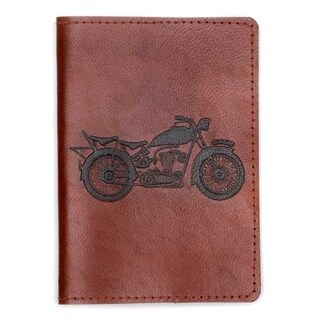 79a7136ac6c26 This stylish passport cover is hand-constructed of ethically-sourced brown  tanned leather and