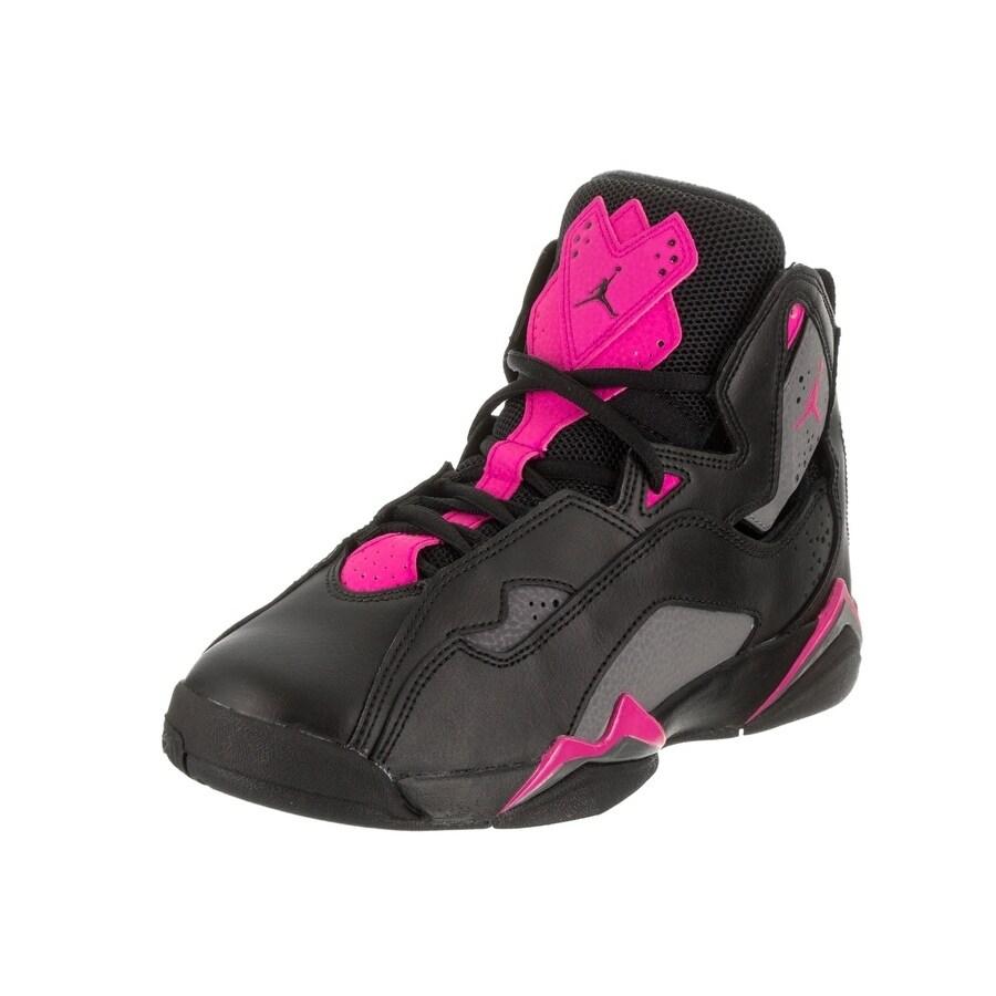 Nike Jordan Kids Jordan True Flight GG Basketball Shoe (A...