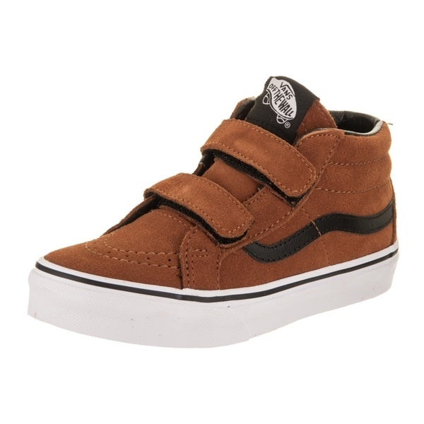 Shop Vans Kids Sk8-Mid Reissue (Suede) Skate Shoe - Free Shipping ... b9d86a3e2
