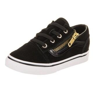 Vans Toddlers Old Skool Zip (Suede) Skate Shoe
