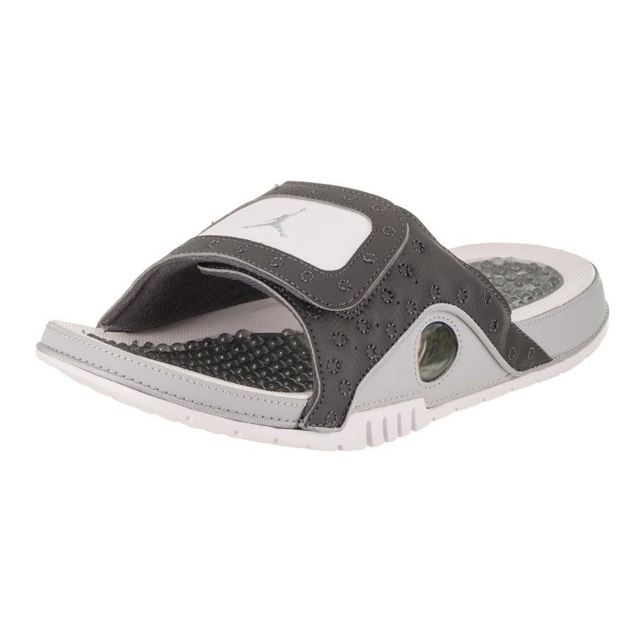 Nike Jordan Men's Jordan Hydro Xiii Retro Sandal (8), Gre...