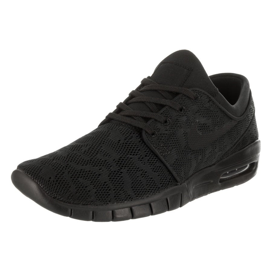 Nike Men's Stefan Janoski Max Skate Shoe (10.5), Black (T...
