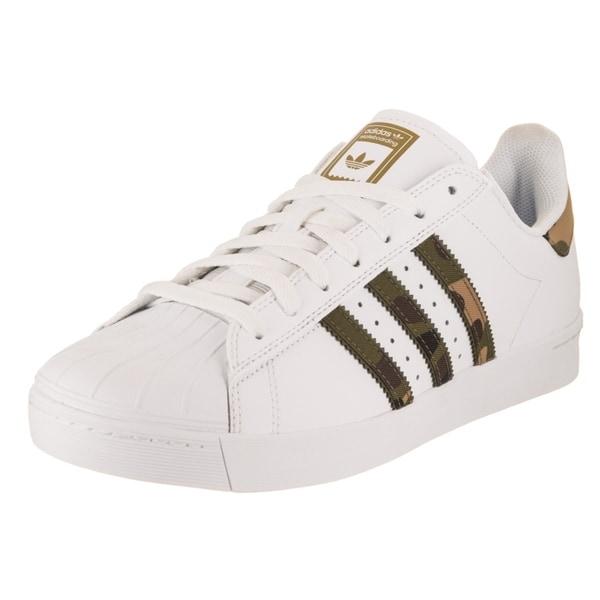 the latest 84799 5e4d6 Adidas Men  x27 s Superstar Vulc Adv Skate Shoe