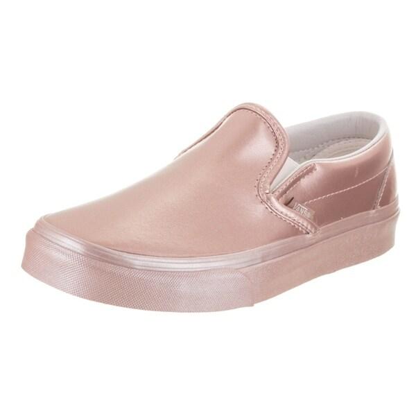 6c7a45d74b814 Shop Vans Unisex Classic Slip-On (Metallic Sidewall) Skate Shoe ...