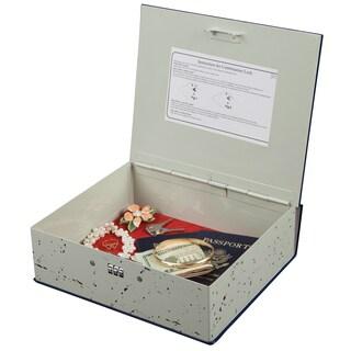 Hercules Book Safe with 3-Wheel Combination Lock