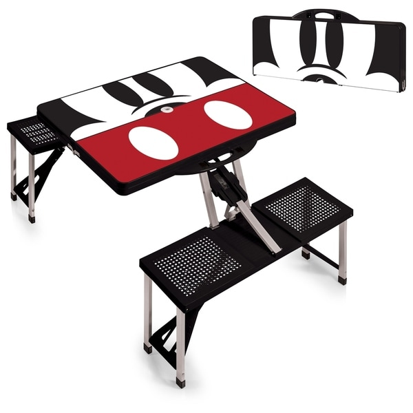 Ordinaire Mickey Mouse   Picnic Table Sport Portable Folding Table With Seats