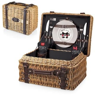Mickey & Minnie Mouse - Champion Picnic Basket|https://ak1.ostkcdn.com/images/products/18157889/P24307023.jpg?impolicy=medium