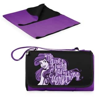 Little Mermaid - Blanket Tote Outdoor Picnic Blanket (Option: Purple)|https://ak1.ostkcdn.com/images/products/18157905/P24307049.jpg?impolicy=medium