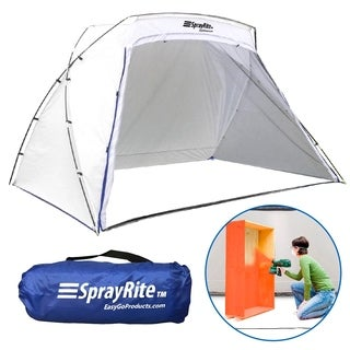 SPRAYRITE - Paint Spray Shelter - Spray Painting Tent - Furniture Paint Stain Shelter - Portable for Home Use and Stores Easily