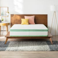 Linenspa Essentials 10-inch California King-size Supportive and Responsive Hybrid Mattress