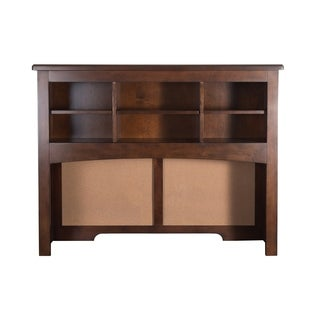 Chelsea Square Burnished Tobacco Student Desk Hutch