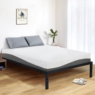 Sleeplanner 18-inch Queen-Size Dura Metal Bed Frame with Round Edge OVS-3500