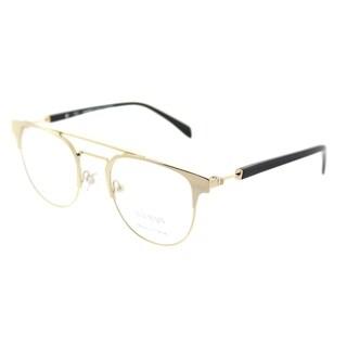 Balmain Round BL 3066 C03 Unisex Gold Shiny Frame Eyeglasses