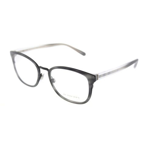 Burberry Square BE 2256 3658 Unisex Striped Grey Frame Eyeglasses