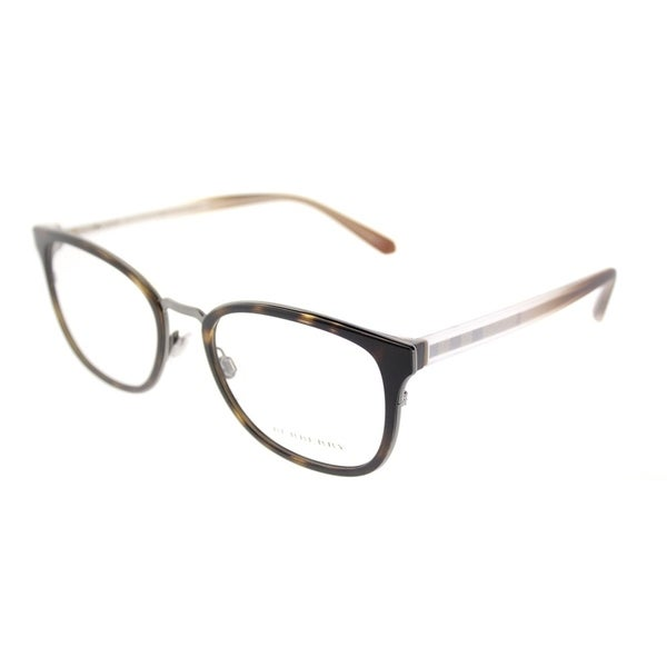 5ad619751b1 Burberry Square BE 2256 3002 Unisex Dark Havana Frame Eyeglasses