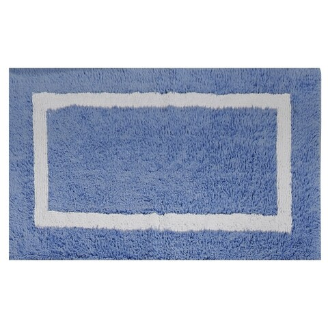Hotel Collection Cotton Reversible Bath Rug