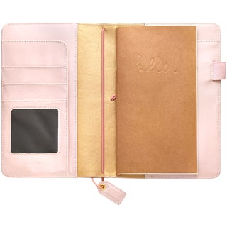 """Color Crush Faux Leather Travelers' Planner 5.75""""X8"""""""