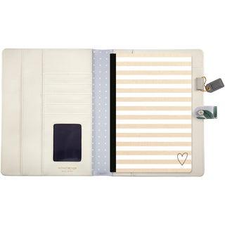 "Color Crush A5 Faux Leather Composition Planner 7.5""X10"""