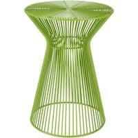 Petruccio Lime Modern 13.5-inch Metal Accent Table
