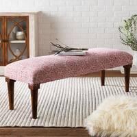 Tuan Bright Pink Boho Cotton Bench