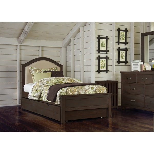 Shop Hillsdale Highlands Twin Bailey Upholstered Bed With Trundle