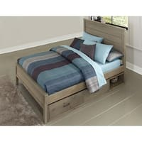 Hillsdale Highlands Alex Full Bed with Storage, Driftwood