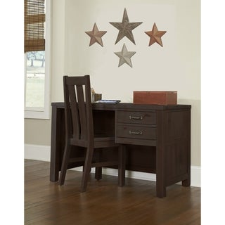 Highlands Desk with Chair, Espresso