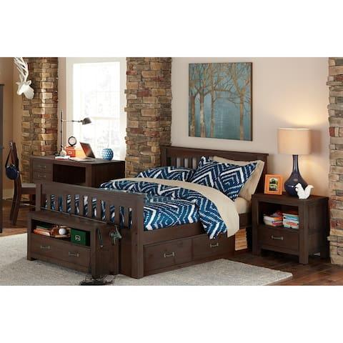 Hillsdale Highlands Harper Full Bed with Storage, Espresso