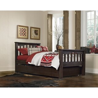 Hillsdale Highlands Harper Twin Bed with Trundle, Espresso