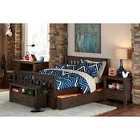 Hillsdale Highlands Harper Full Bed with Trundle, Espresso