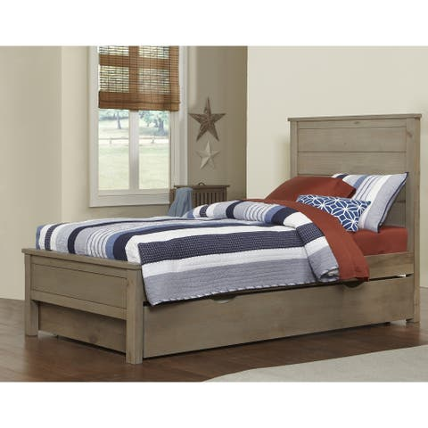 Hillsdale Highlands Alex Twin Bed with Trundle, Driftwood