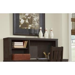 Highlands Desk Hutch, Espresso