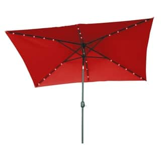 Buy Size 10 Ft Red Patio Umbrellas Online At Overstock