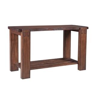 Panama Jack Big Sur Burnished Brown Sofa Table